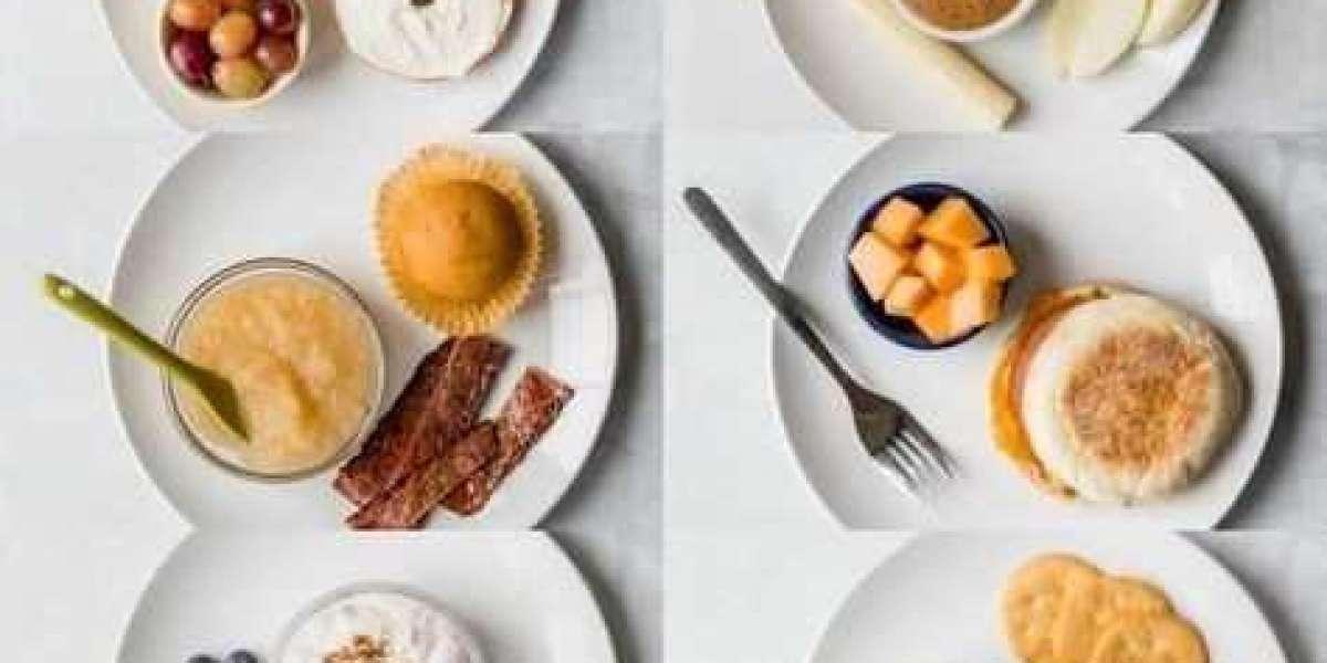 Healthy School breakfast menu for an entire week