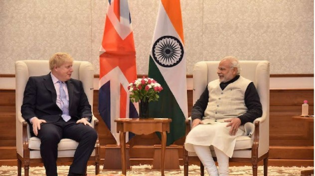 UK PM Boris Johnson accepts India's Invite