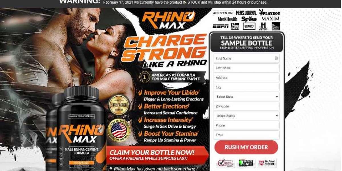 Rhino Max Male Enhancement Improve your Libido