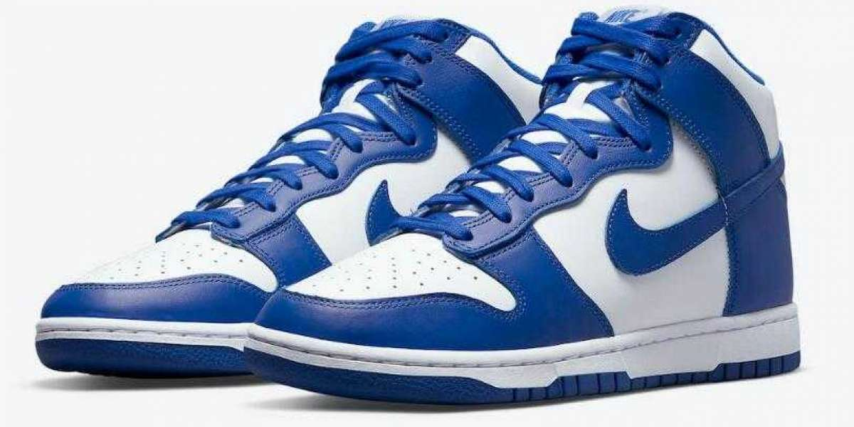To Buy Most Populare DD1399-102 Nike Dunk High Game Royal
